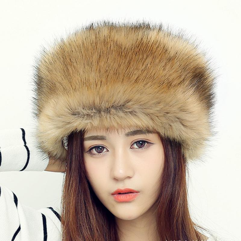 685990905 HT552 Women Men RACCOON Fur Cap Hats Fashion Warm Russian Fur Hats for  Winter Luxury Female Russian Ushanka Hats Beanies for Men